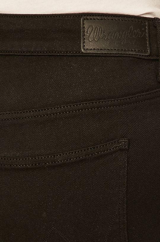 černá Wrangler - Kalhoty