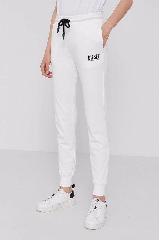 biały Diesel - Spodnie Damski