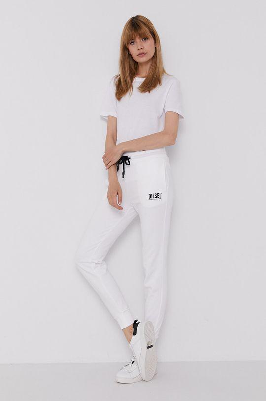 Diesel - Spodnie biały
