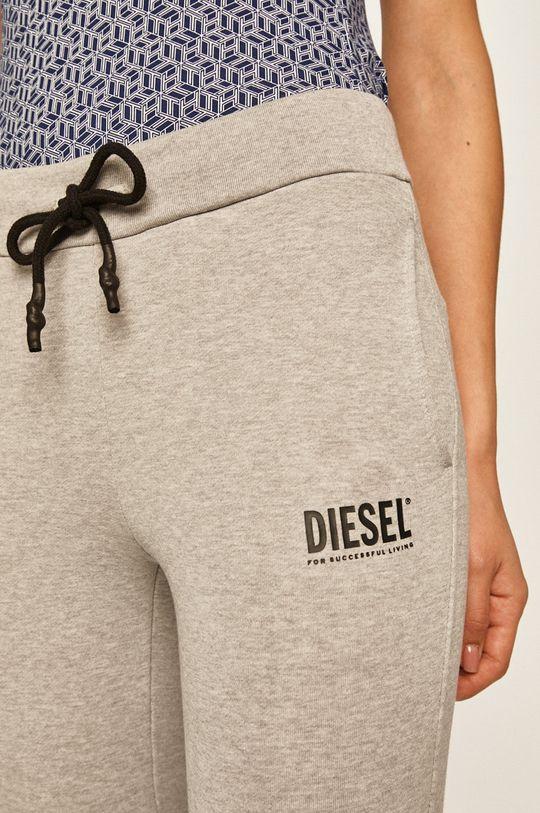 světle šedá Diesel - Kalhoty