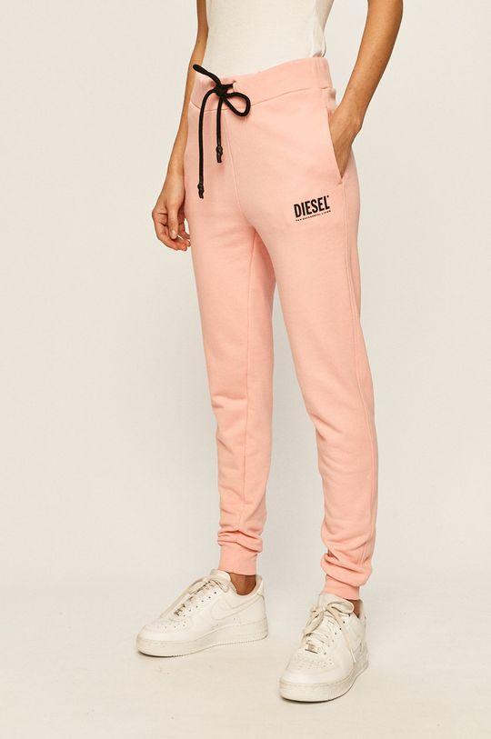 růžová Diesel - Kalhoty Dámský