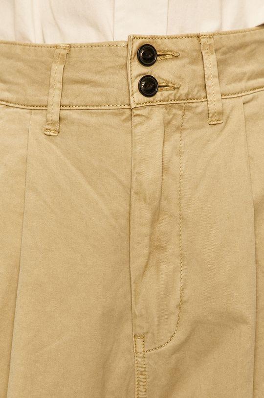 blady zielony Pepe Jeans - Spodnie Mamba
