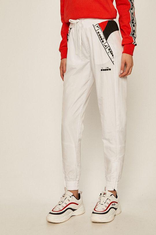 biały Diadora - Spodnie Damski