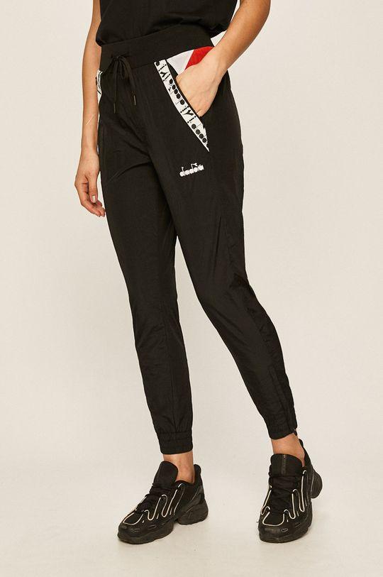 černá Diadora - Kalhoty Dámský