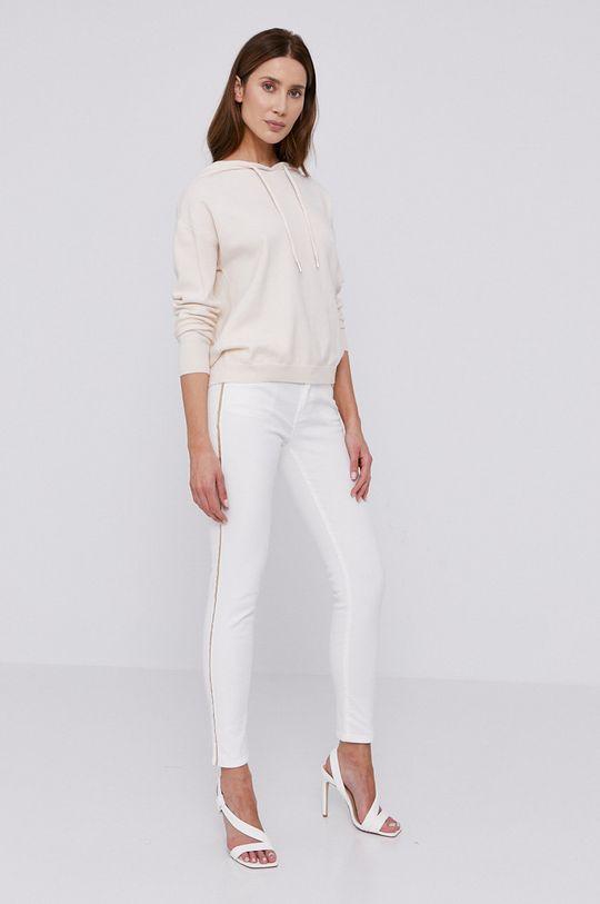 Morgan - Jeansy biały