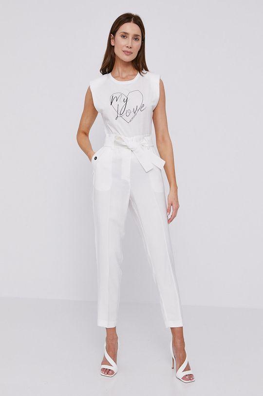 Morgan - Pantaloni alb