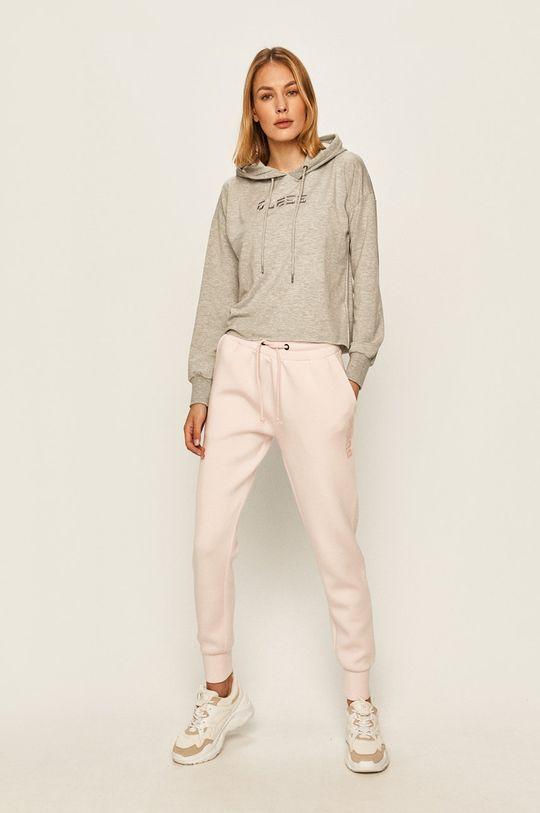 Guess Jeans - Pantaloni roz pastelat