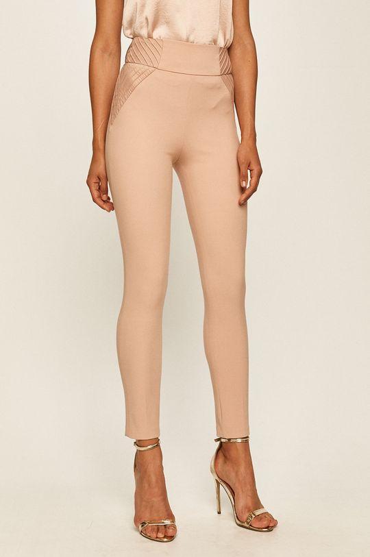 pastelově růžová Marciano Guess - Kalhoty Dámský