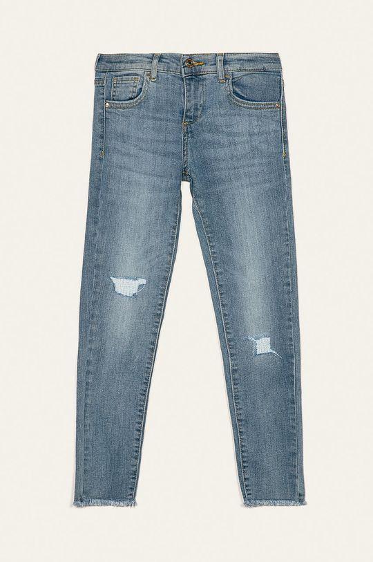 světle modrá Guess Jeans - Dětské rifle 125-175 cm Dívčí