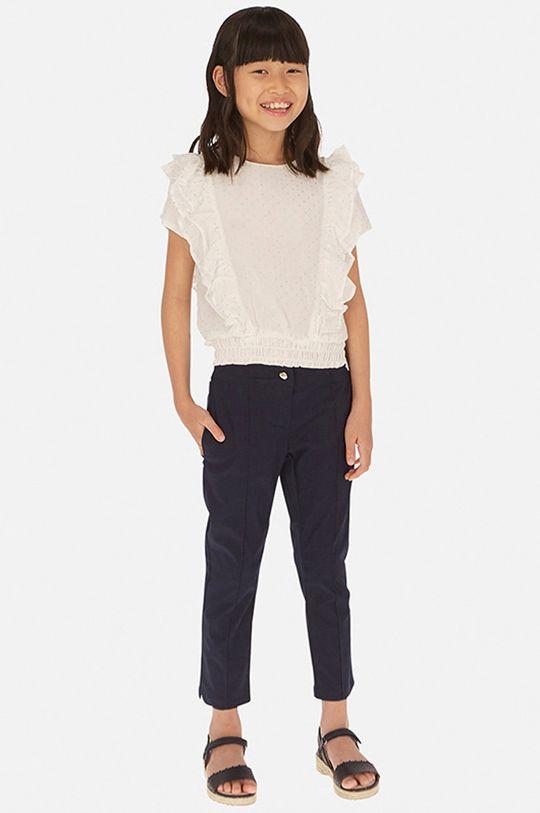 bleumarin Mayoral - Pantaloni copii 128-167 cm De fete