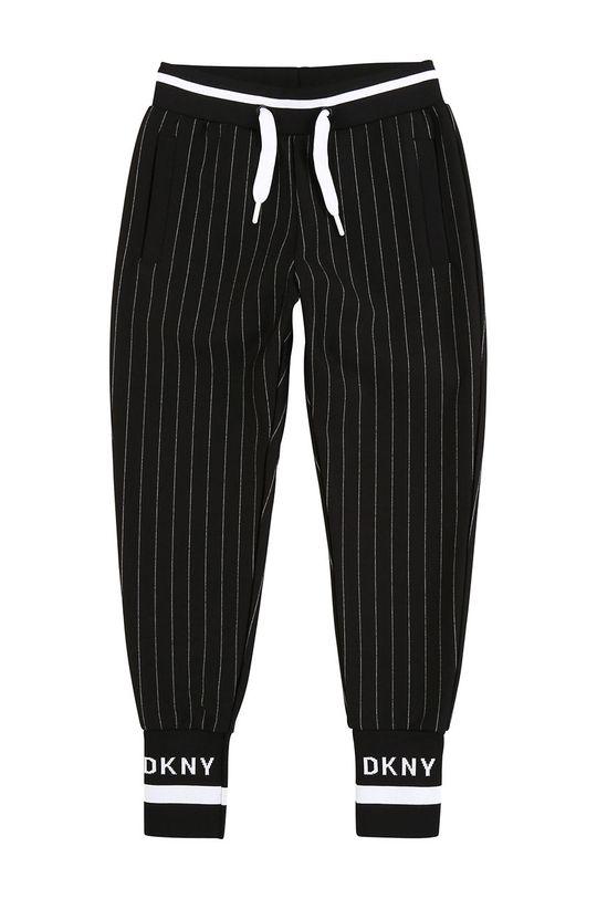 negru Dkny - Pantaloni copii 152-158 cm De fete