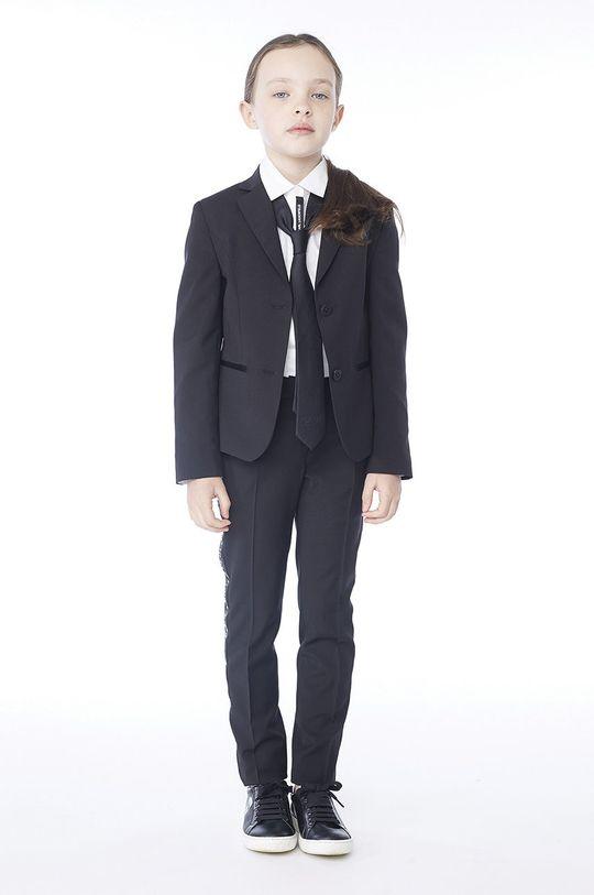 negru Karl Lagerfeld - Pantaloni copii 152-162 cm De fete