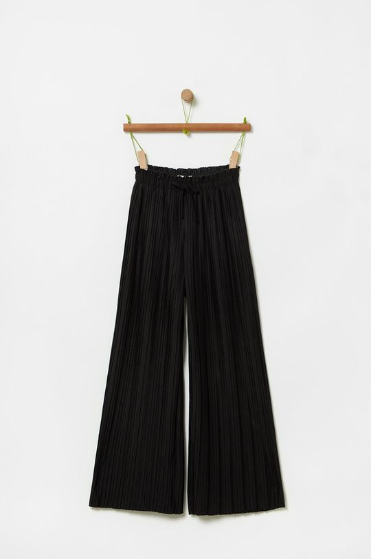 čierna OVS - Detské nohavice 146-170 cm Dievčenský