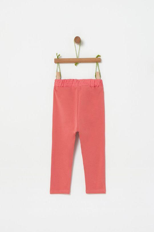 OVS - Detské nohavice x Disney 74-98 cm staroružová