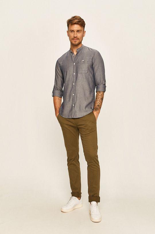 Tom Tailor Denim - Kalhoty olivová
