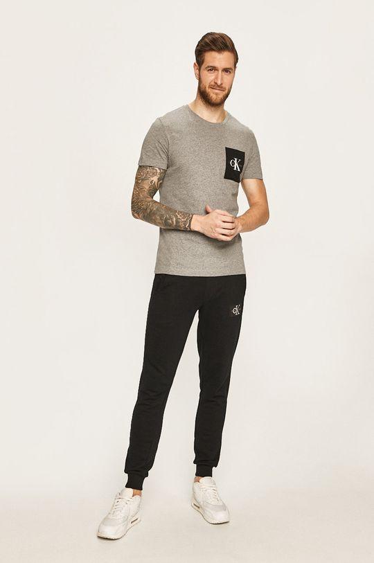 Calvin Klein Jeans - Nohavice čierna