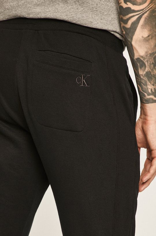 čierna Calvin Klein Jeans - Nohavice