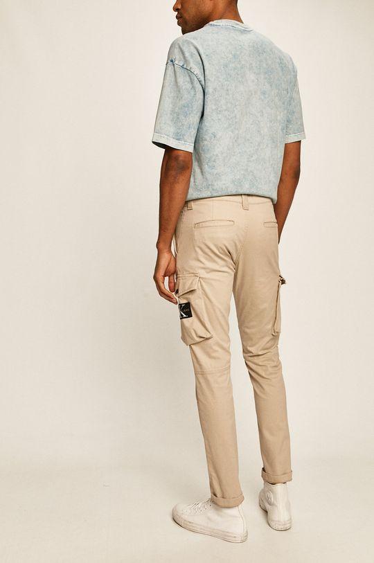 Calvin Klein Jeans - Pantaloni 97% Bumbac, 3% Elastan