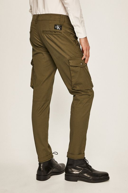 Calvin Klein Jeans - Kalhoty 97% Bavlna, 3% Elastan