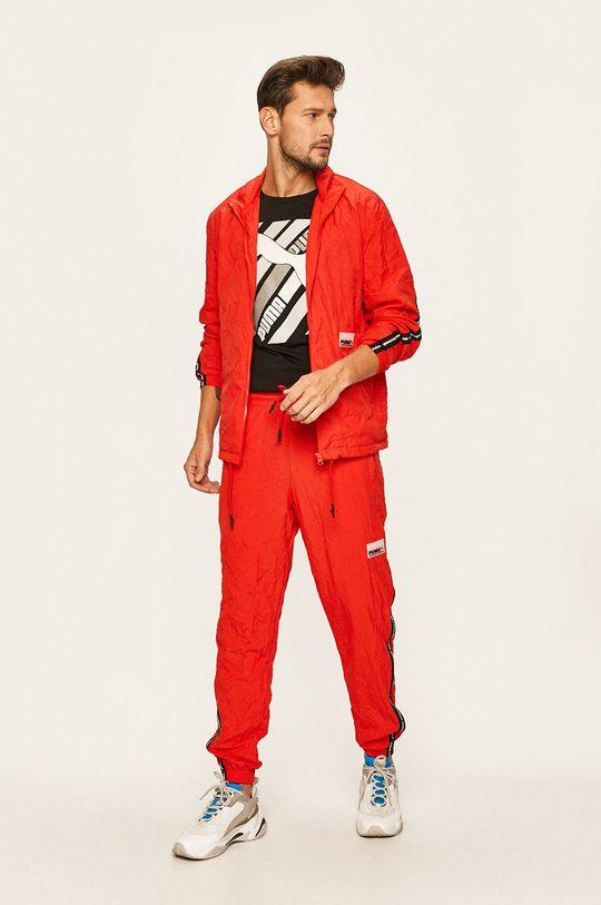 Puma - Spodnie czerwony