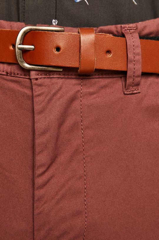 fiołkowo różowy Selected - Spodnie