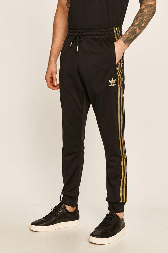 černá adidas Originals - Kalhoty Pánský