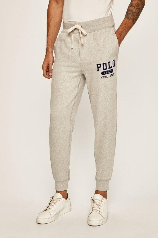 světle šedá Polo Ralph Lauren - Kalhoty Pánský
