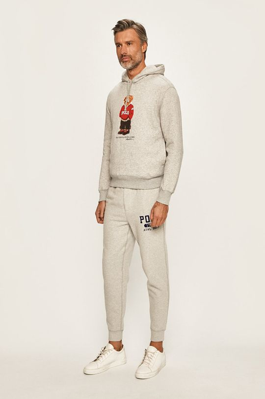 Polo Ralph Lauren - Kalhoty světle šedá
