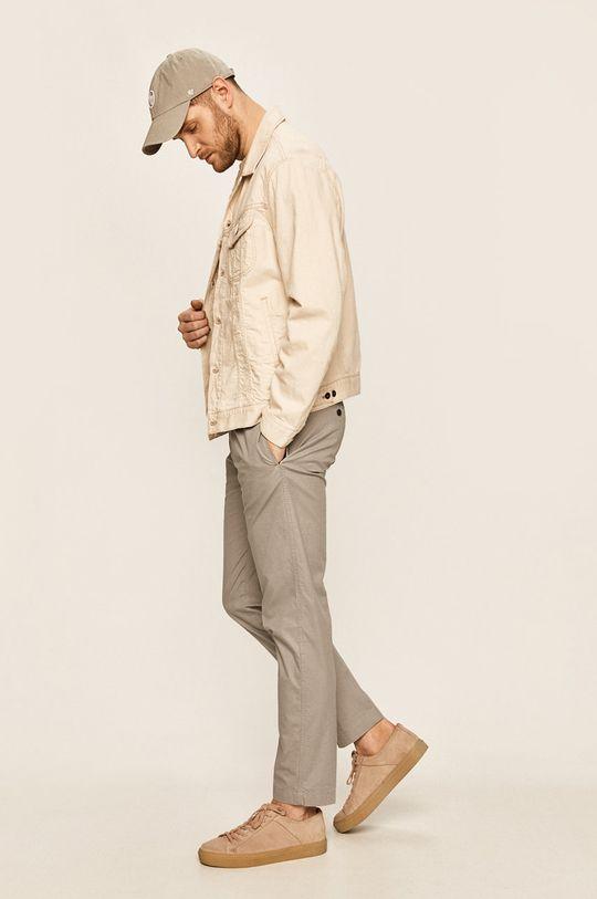 Calvin Klein - Spodnie szary