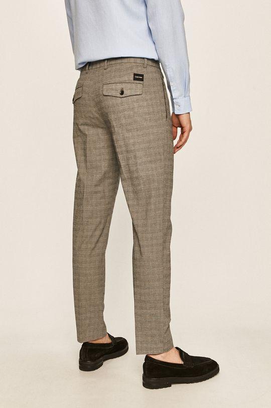 Calvin Klein - Spodnie 97 % Bawełna, 3 % Elastan