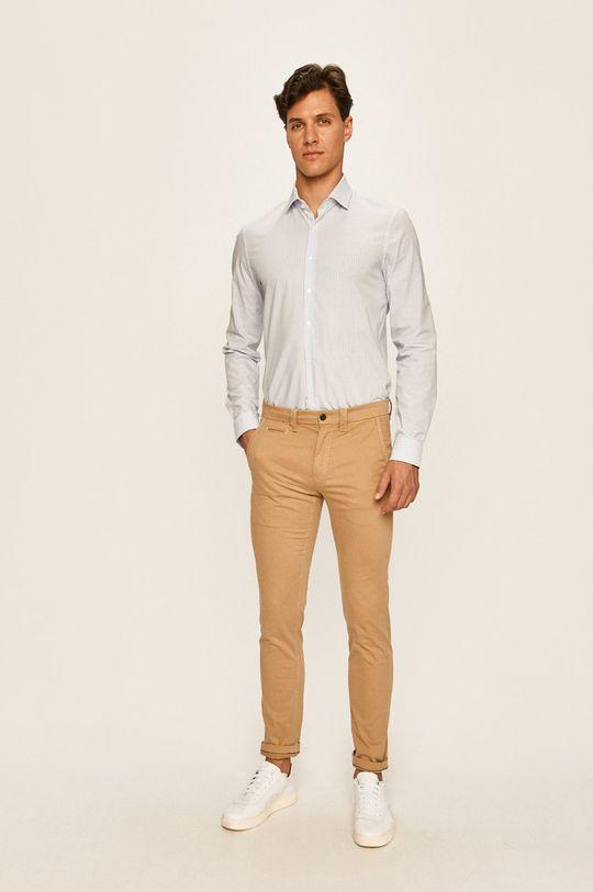 Calvin Klein Jeans - Kalhoty béžová