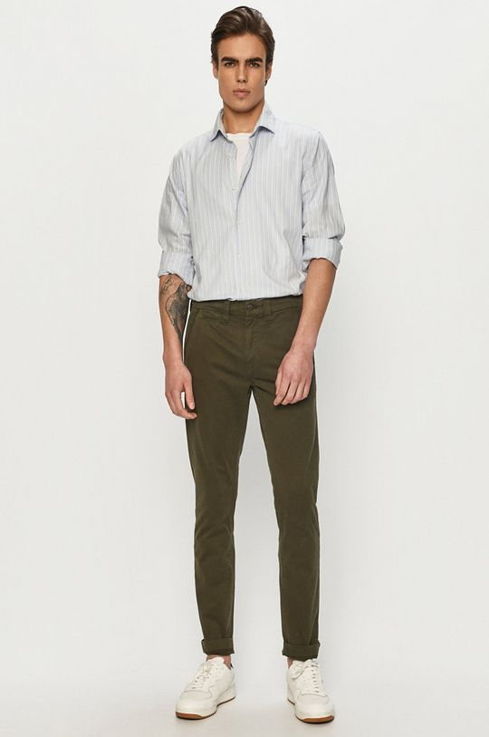 Calvin Klein Jeans - Spodnie oliwkowy