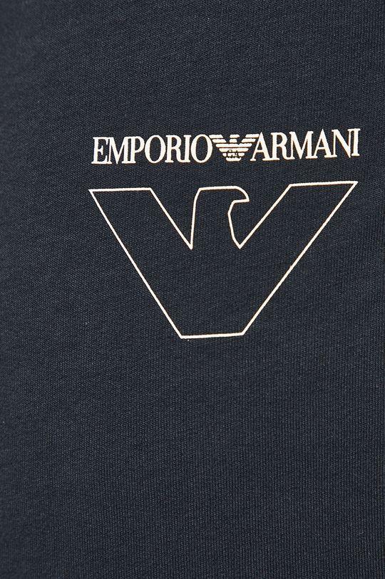 granatowy Emporio Armani - Spodnie