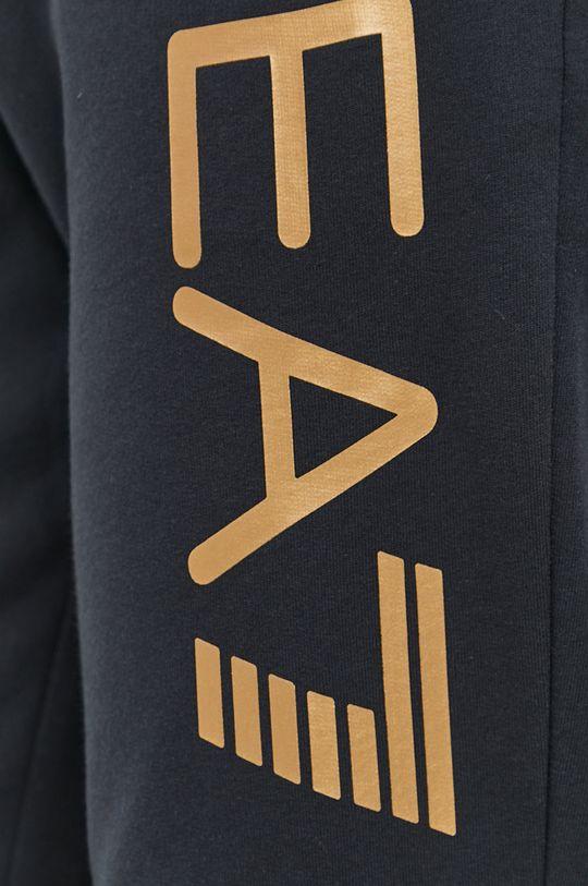 granatowy EA7 Emporio Armani - Spodnie