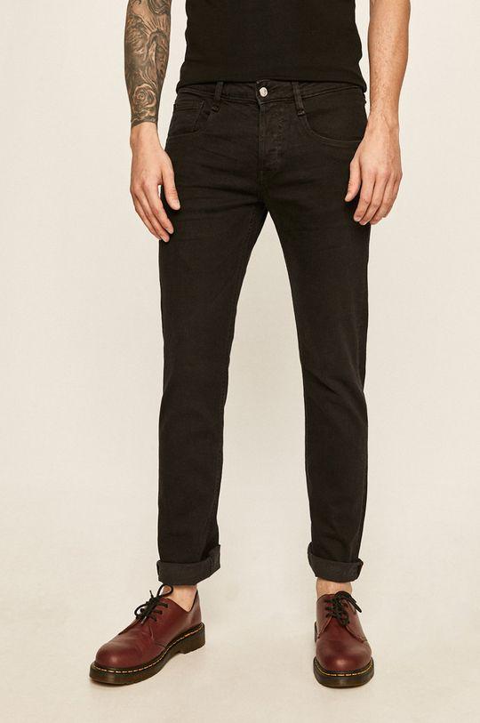 czarny Guess Jeans - Spodnie Vermont Męski