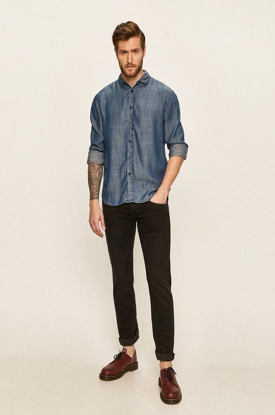 Guess Jeans - Spodnie Vermont czarny