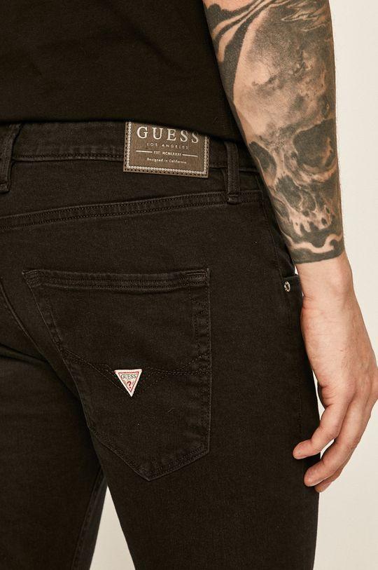 czarny Guess Jeans - Spodnie Vermont