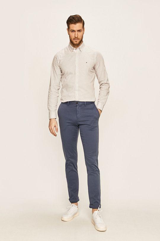 Tommy Hilfiger - Kalhoty ocelová modrá