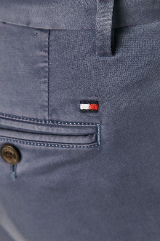 ocelová modrá Tommy Hilfiger - Kalhoty
