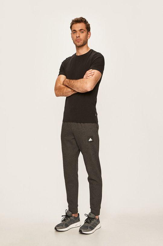 adidas Performance - Kalhoty šedá