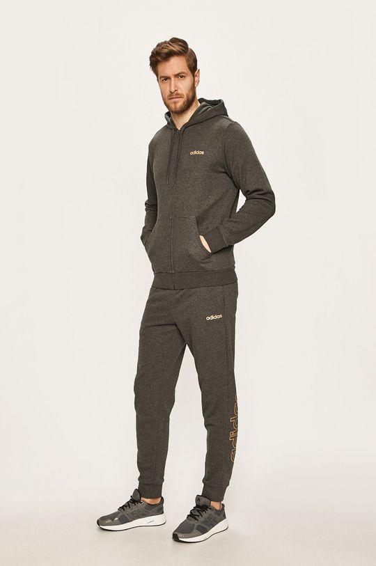 adidas - Kalhoty světle šedá