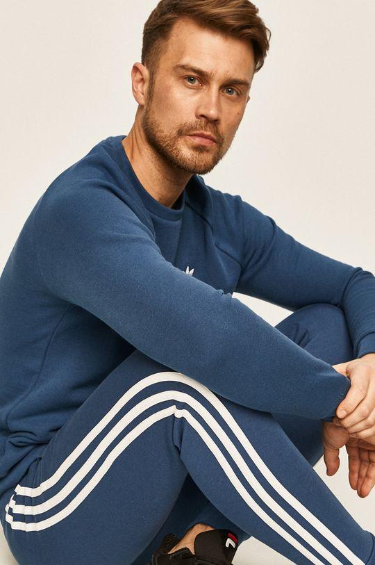 modrá adidas Originals - Nohavice Pánsky
