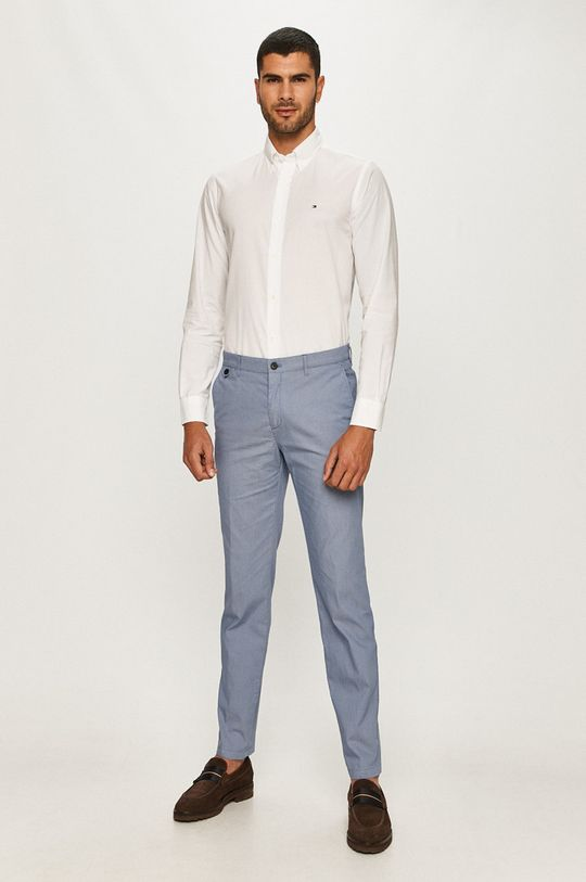 Tommy Hilfiger Tailored - Nohavice modrá
