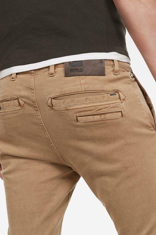 G-Star Raw - Spodnie 7 % Elastomultiester, 2 % Lycra, 91 % Bawega