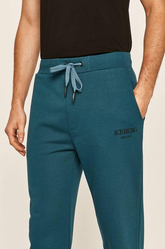 albastru Iceberg - Pantaloni
