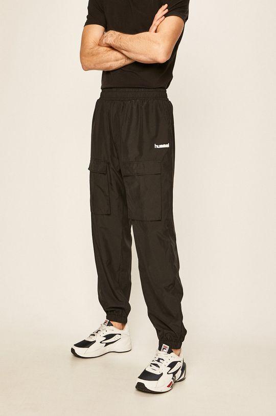 negru Hummel - Pantaloni De bărbați