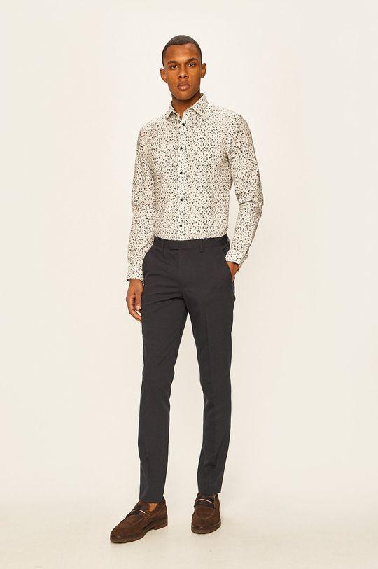 Premium by Jack&Jones - Kalhoty námořnická modř