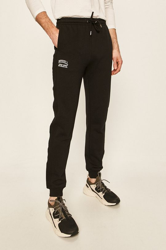 czarny Russel Athletic - Spodnie Męski