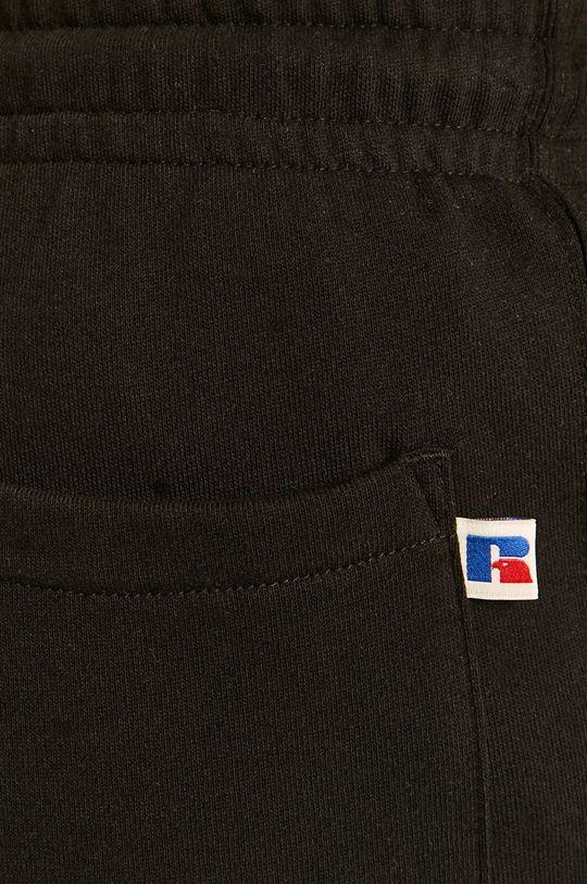 czarny Russel Athletic - Spodnie
