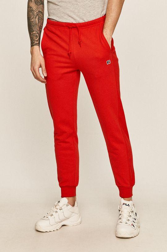 červená Russell Athletic - Kalhoty Pánský